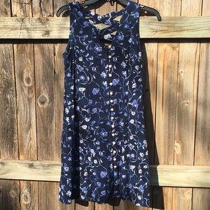Vintage | 90's floral babydoll dress